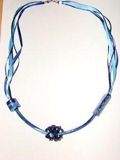 Hand made polymer clay necklace.f https://www.facebook.com/Anna-Donna-%C3%A9kszer-231340573715505/
