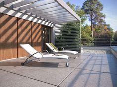 DOM.PL™ - Projekt domu TP Mikado CE - DOM TP1-83 - gotowy koszt budowy Outdoor Furniture, Outdoor Decor, Sun Lounger, Design, Home Decor, Houses, Chaise Longue, Decoration Home, Room Decor