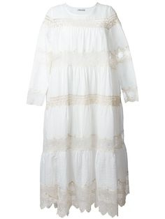 Mes Demoiselles Crochet Detail 'plenty' Dress - SS 2016.