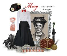"""Mary poppins"" by ida-mccosh ❤ liked on Polyvore featuring Disney and Kiton"