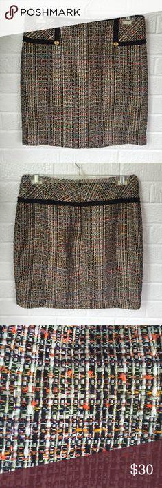 Trina Turk Skirt Excellent condition skirt, perfect for fall!!! Back zipper. Trina Turk Skirts