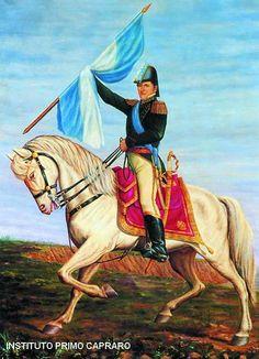 Argentina's war for independence - General Manuel Belgrano Argentina Flag, Princess Zelda, Disney Princess, Disney Characters, Fictional Characters, War, Painting, Animals, Ideas Para
