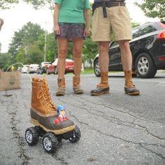 Mini-Bootmobile