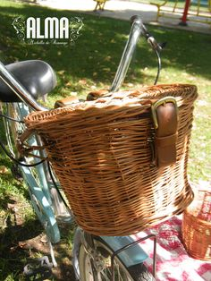 Bici rousy on pinterest crunches php and baskets - Canastos de mimbre ...