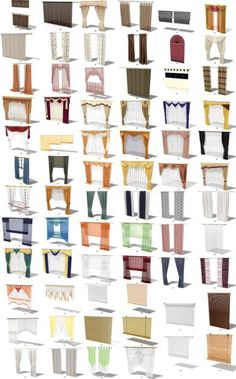 how adorable diff curtains Vintage Revivals: PVC Pipe Dresser Overhaul Glamorous Austin home designed by Jan Show. Curtains And Draperies, Home Curtains, Hanging Curtains, Drapery, Bed Valance, Valances, Curtain Styles, Curtain Designs, Window Coverings