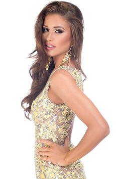 Nia Sanchez Miss Nevada USA 2014  STUNNING MAKE-UP