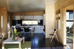 Called Studio 19, this small home is part of a social housing project in Henderson, Auckland. See more at http://humble-homes.com/studio-19-prefab-social-housing-done-right/