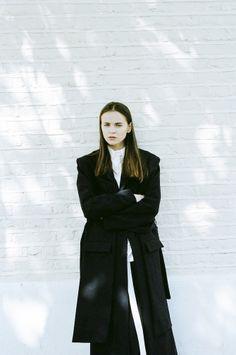 Emma Bradstreet: A/W 15 - Thisispaper Magazine Boyish Girl, Fashion Art, Fashion Outfits, Ready To Wear, Fashion Photography, Winter Jackets, Normcore, Feminine, Style Inspiration