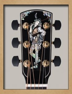 Larrivée Guitars - Inlay Artwork