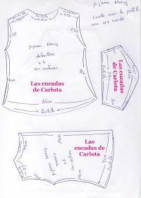 Las cucadas de Carlota y sus muñecas: Patrón pijama largo Nancy Girl Doll Clothes, Barbie Clothes, Vestidos Nancy, Nancy Doll, American Girl, Patterns, Baby Born, Peppa Pig, Drawing