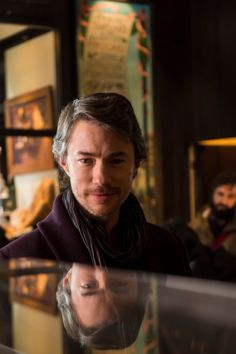 Tom Wisdom as Anthony Dimmond in Hannibal (BTS - Omg that look gives me chills!)