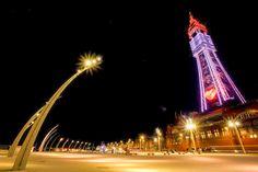 Blackpool Tower comedy carpet