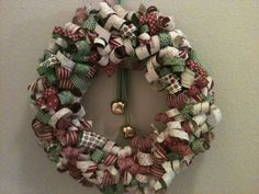 Stampin' in the Sun!: Curly Paper Wreath