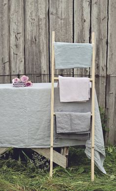 Linen tablecloth. Full linen washed cloth set by notPERFECTLINEN, $70.00