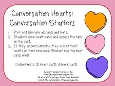 This freebie is a 6 page download and includes 2 student mats, 21 heart cards, and 3 blank cards.  - repinned by @PediaStaff – Please Visit  ht.ly/63sNt for all our pediatric therapy pins