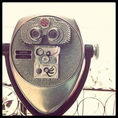 vintage binoculars.