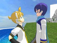 [MMD] Kaito wants to take Len to the gay bar - YouTube