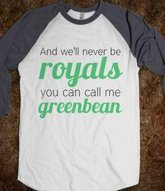 Royals/Greenbean Nash Grier Tee - AV's Boutique - Skreened T-shirts    Lol