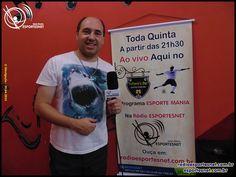 Programa ESPORTE MANIA do dia 30 de Abril de 2015 no Tchore's Bar em Taboão da Serra pela Rádio ESPORTESNET