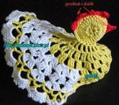 Tutorial for crochet chicken Crochet Gratis, Filet Crochet, Crochet Toys, Crochet Baby, Chicken Pattern, Crochet Chicken, Easter Crochet Patterns, Vintage Crochet, Single Crochet