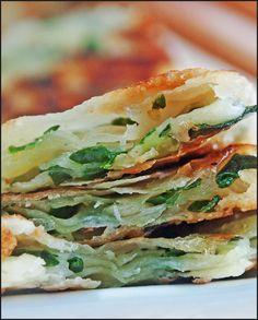 KitchenTigress: Spring Onion Pancakes (葱油饼)