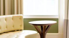 Modernist furniture.