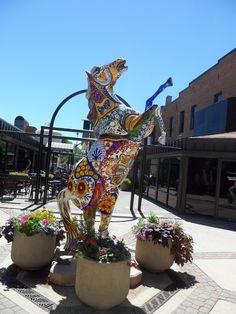 Old Town of Fort Collins. Check out this list of the top 10 statues around FoCo! Road Trip To Colorado, Moving To Colorado, Living In Colorado, Colorado Homes, Loveland Colorado, Fort Collins Colorado, Colorado State University, Estes Park, Public Art