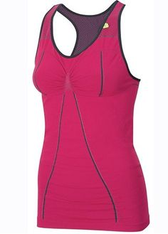 Pinky fuchsia. Comfy (Stylish Sportswear - Sweaty Betty running vest, £55  Fashion Pictures   Marie Claire)