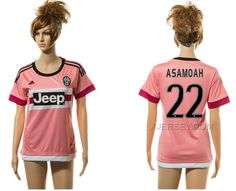 http://www.xjersey.com/201516-juventus-22-asamoah-away-women-jersey.html 2015-16 JUVENTUS 22 ASAMOAH AWAY WOMEN JERSEY Only 33.11€ , Free Shipping!