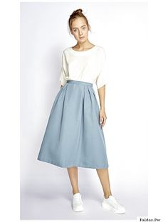 Swans Style is the top online fashion store for women. Shop sexy club dresses, jeans, shoes, bodysuits, skirts and more. Modest Dresses, Modest Outfits, Classy Outfits, Skirt Outfits, Modest Fashion, Skirt Fashion, Dress Skirt, Fashion Dresses, Dress Up