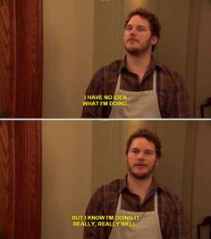 Parks and Recreation Andy Dwyer Chris Pratt Yearbook Quotes, Tv Quotes, Movie Quotes, Funny Quotes, Funny Memes, Jokes, Work Quotes, Funny Drunk, Drunk Texts