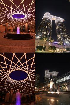 Light Architecture, Contour, Signage, Tower, Led, Lighting, Building, Contouring, Rook