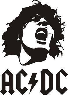 Acdc Vinyl Decal Sticker