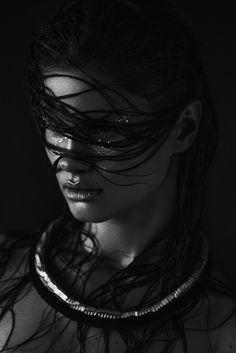 Liilya by Nicolas Aubry. Hair : Raphael Mariage. Makeup : www.fannymaurer.com