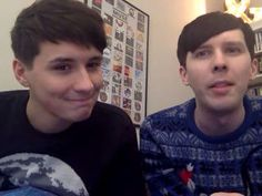 Dan and Phil YouNow 20/12/15