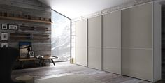 'Link' The natural warmth of wood, the variety of lacquered finishes, the beauty of high gloss are all quality features of the Link doors. The colours and finish options available allow for the creation of compositions marked by classic elegance or original modernity.