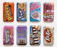 Candy (bar) iPhone cases... ugh!! Cant decide between reese's pieces or m&m's!!! Decisions, decisions