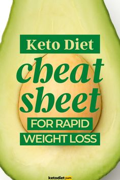 Keto Cheat Sheet to Get Into Ketosis Fast Keto Diet Plan, Diet Plans, Get Into Ketosis Fast, High Fat Diet, Ketogenic Diet For Beginners, How To Get, How To Plan, Recipes For Beginners, Good Sleep