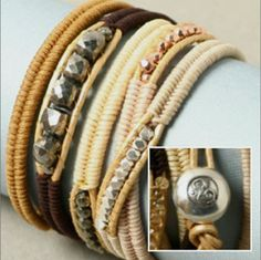 Tutorial for herringbone wrap bracelet  #handmade #jewelry