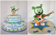 Gummibär The Gummy Bear Birthday Party Cake Idea sweet tooth