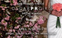 Oscar de la Renta is building buzz for its bridal show by live-pinning images from the show to Pinterest.