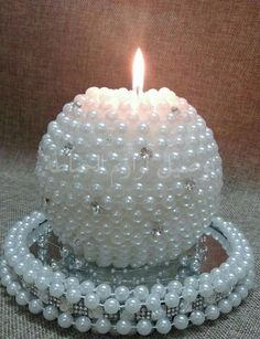 Try These Easy Decorating Tips When Working with Candles Bling Centerpiece, Candle Centerpieces, Candle Art, Unity Candle, White Candles, Diy Candles, Diwali Decorations, Beautiful Candles, Bottle Crafts