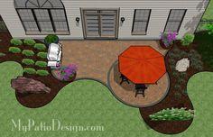 small patio designs - Google Search
