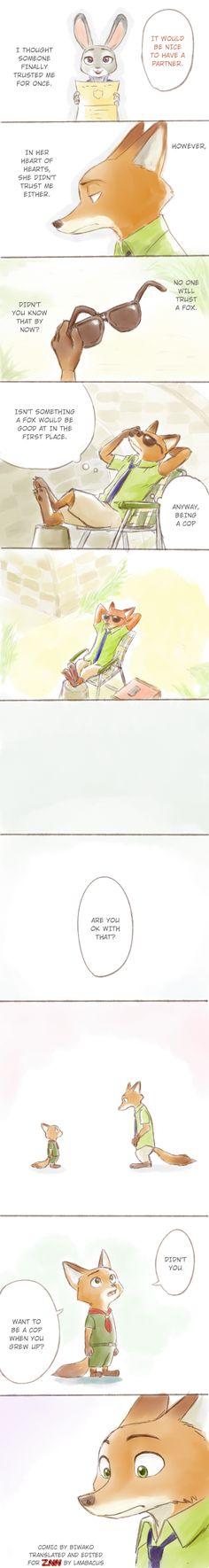 Comic: Memories from the Past (Original by biwako) - Zootopia News Network