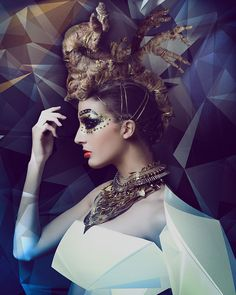 Hairdressing and Makeup: Rafaelangel Peluqueros. Photo: David Arnal. Styling: Eunnis Mesa. Schwarzkopf Professional. #hairdressing
