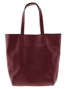 oxblood tote {holiday gift idea}