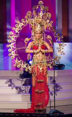 Miss India from 2014 Miss Universe National Costume Show | E! Online