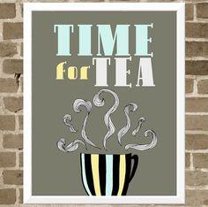 L'heure du thé/Tea time