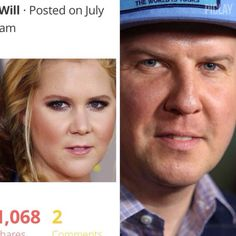 Amy Schumer looks like Nick Swardson in drag.