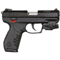 Ruger SR22 with Crimson Trace laser